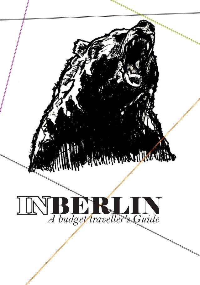 A budget traveller's Guide INBERLIN