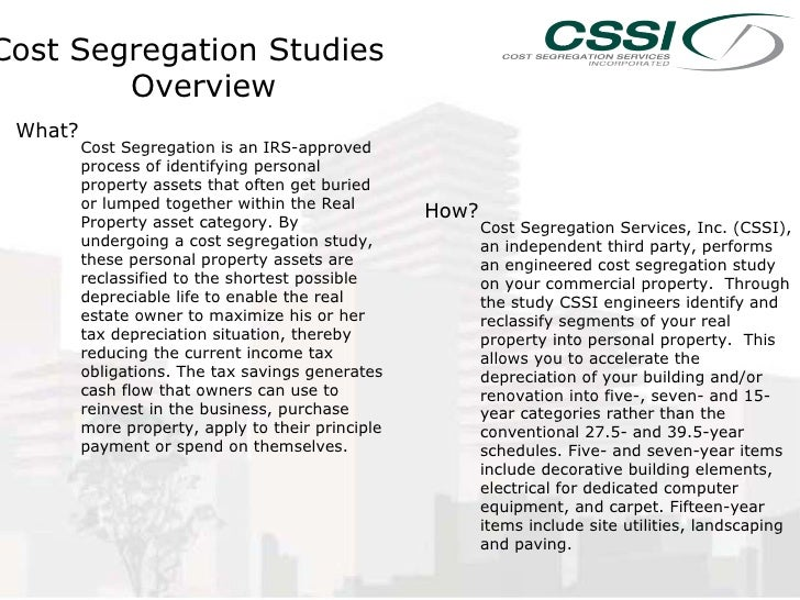 cost segregation note Cftc initial margin segregation fact sheet april 28 please note the regulation applies to each such counterparty at the legal what is the cost of segregation.