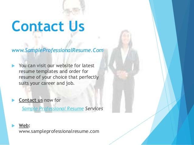Professional Resume Samples – Www.sample Resume