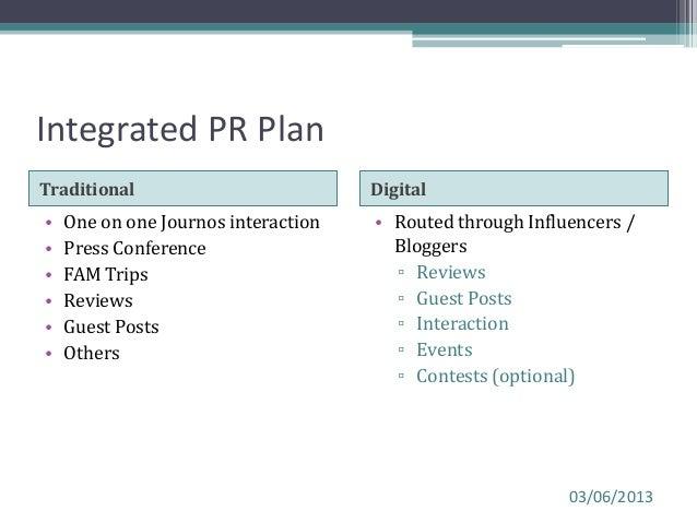 Sample pr plan hiranandani project launch