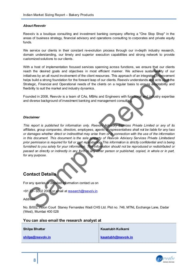 Business consultant report template 28 images writing a business consultant report template sle report market size bakery products wajeb Images