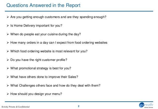 restaurant industry report
