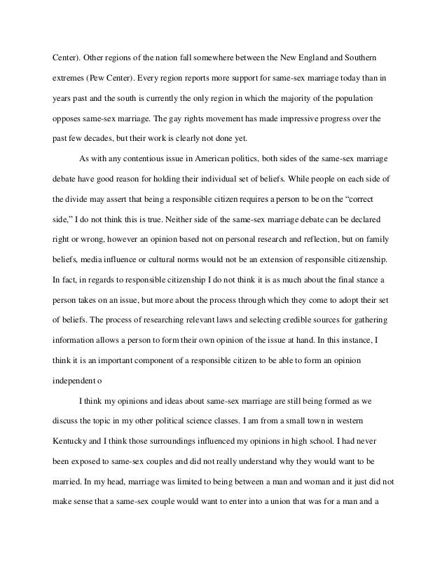 same marriage essay topics