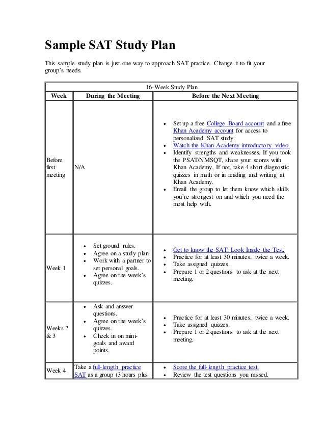 Study Plan For Graduate Studies , Sample of Essays
