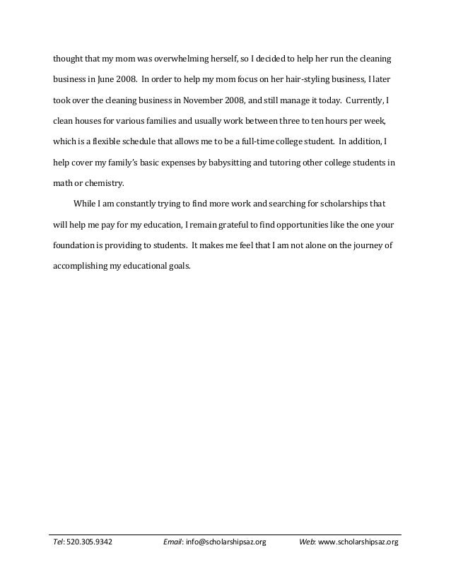 sample scholarship essays  4