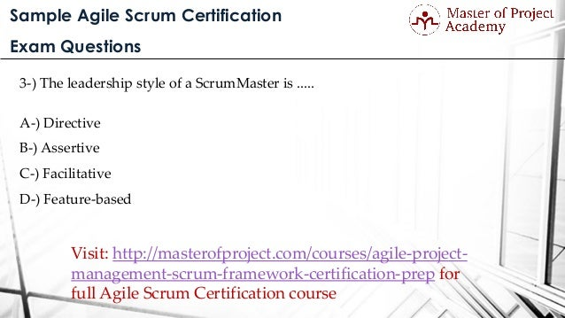 Sample agile scrum certification exam questions sample agile scrum certification exam questions yadclub Gallery