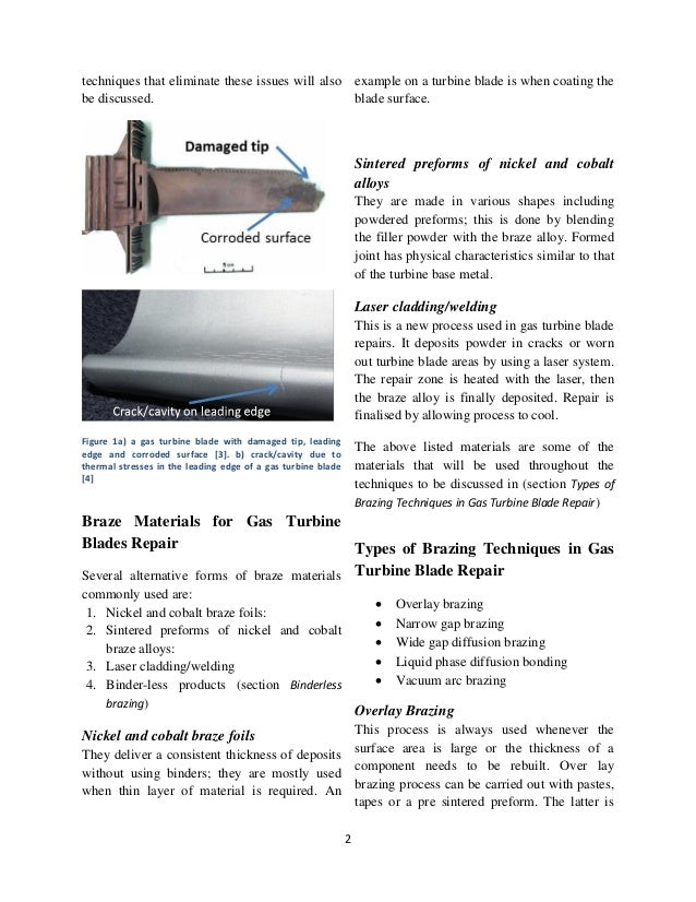 the gas turbine blade engineering essay A turbine blade is the individual component which makes up the turbine section  of a gas turbine  gas turbine engineering handbook (3rd ed) oxford:  elsevier.