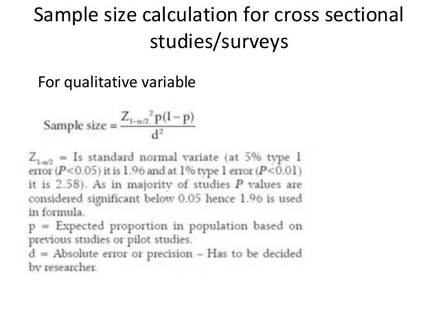 ️ Cross sectional qualitative study. What Is A Cross. 2019 ...