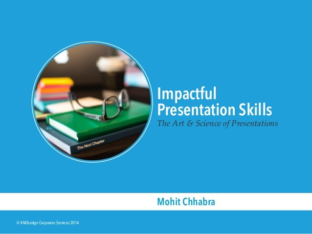 sample slides from the impactful presentation skills workshop