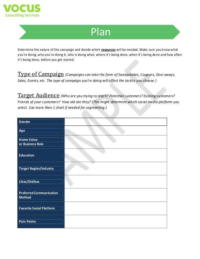 social media campaign templates