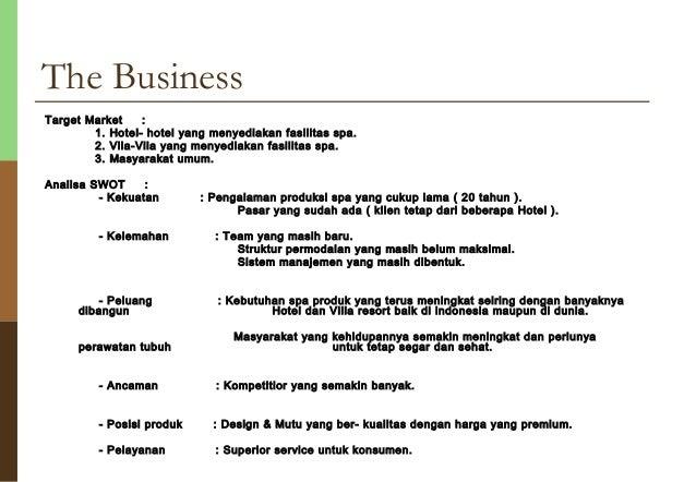 spa business proposal