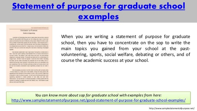 sample statement of purpose of any kind for you – Sample Statement of Purpose