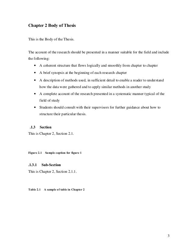 thesis headings The outline will guide you as to how to write your headings and subheadings illustrate appropriate language for headings after deciding on a thesis for.