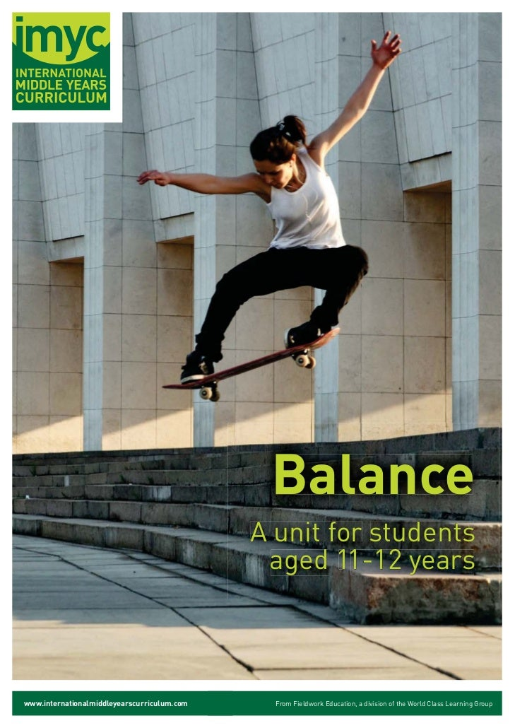 Balance                                             A unit for students                                              aged ...