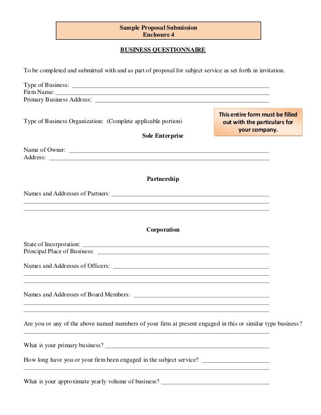 Sample Unsolicited Proposal Submission – Unsolicited Proposal Template