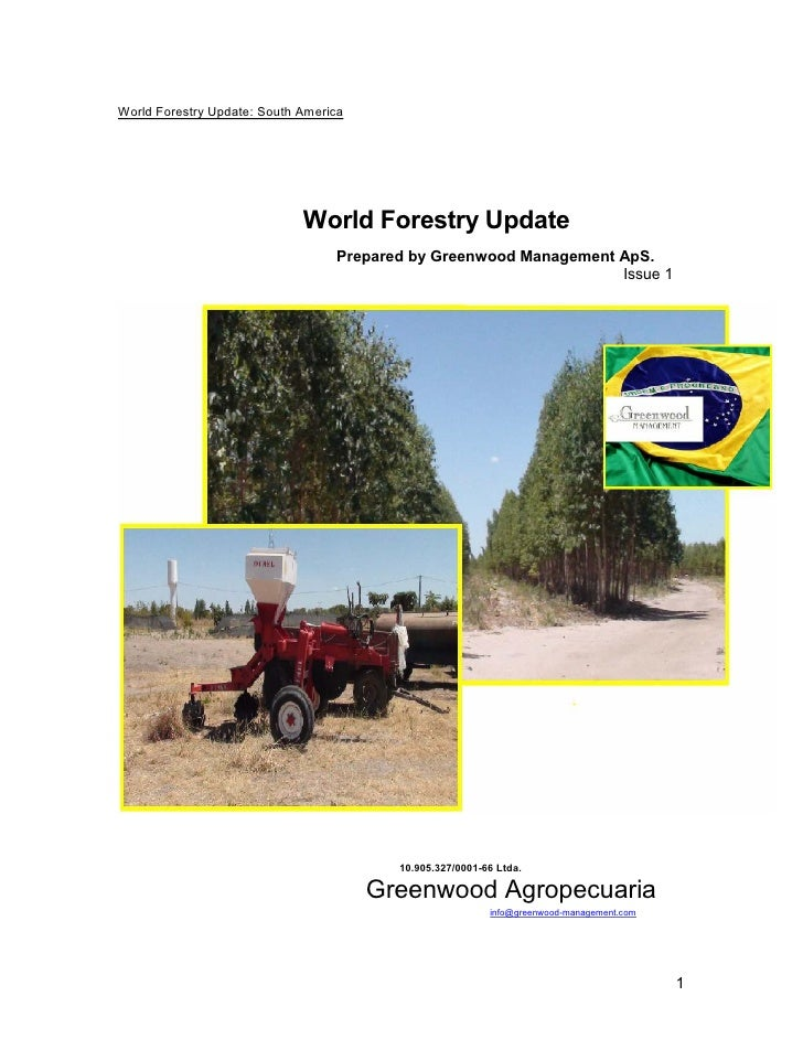 World Forestry Update: South America                                  World Forestry Update                               ...