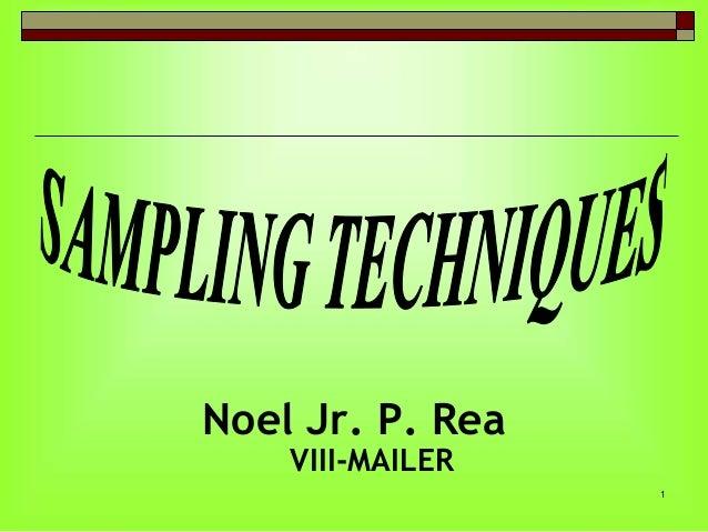 Noel Jr. P. Rea VIII-MAILER  1