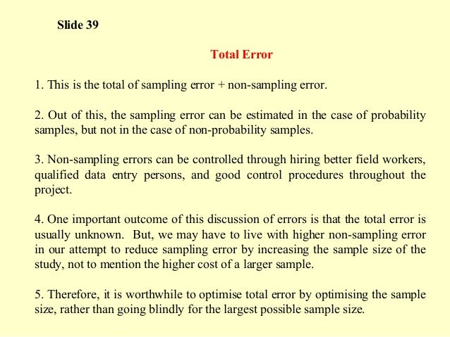 sampling theory and methods pdf