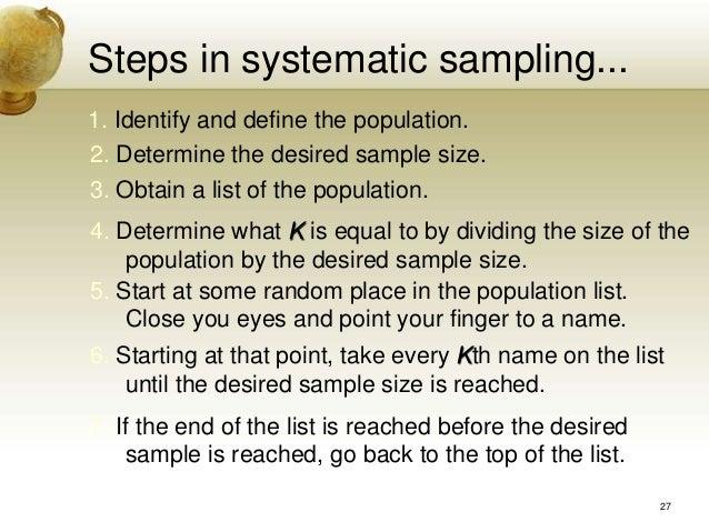 Sampling For Multivariate Data Analysis