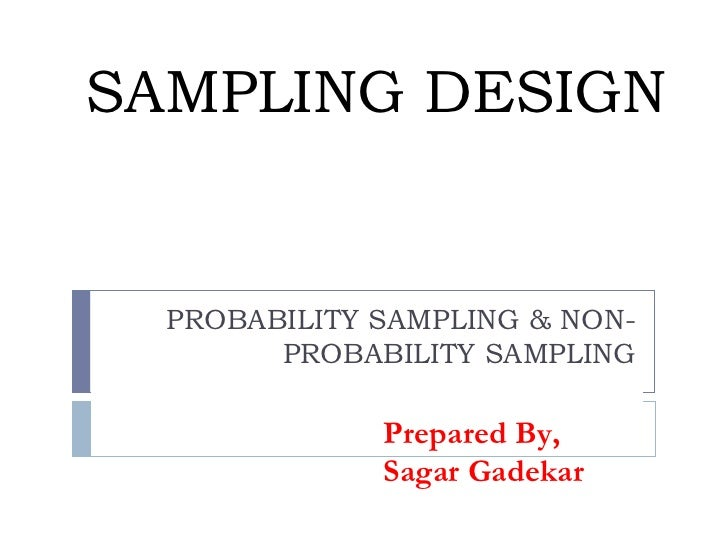 sampling design and technique thesis The sampling issues in quantitative research lated in only one dissertation sampling technique, sample size.
