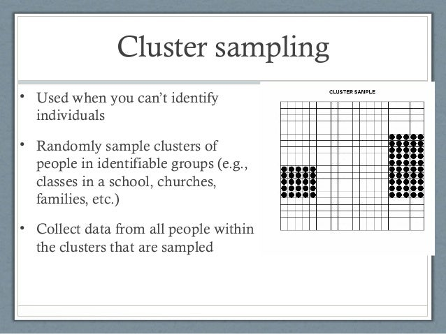 quantitative stratified sampling Sample size determination is the act of choosing the number of observations or  replicates to  33 cumulative distribution function 4 stratified sample size 5  qualitative research 6 see also 7 notes 8 references 9 further reading.
