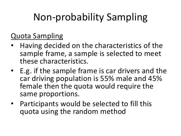 Sampling types-presentation-business research