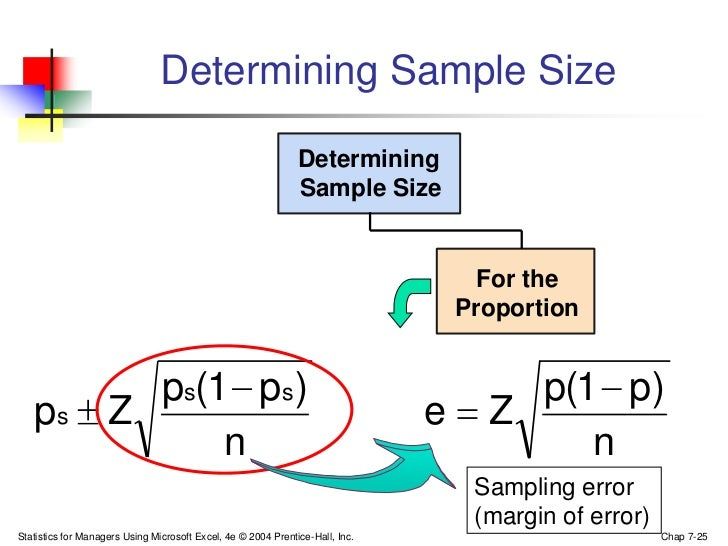 Sampling Excel