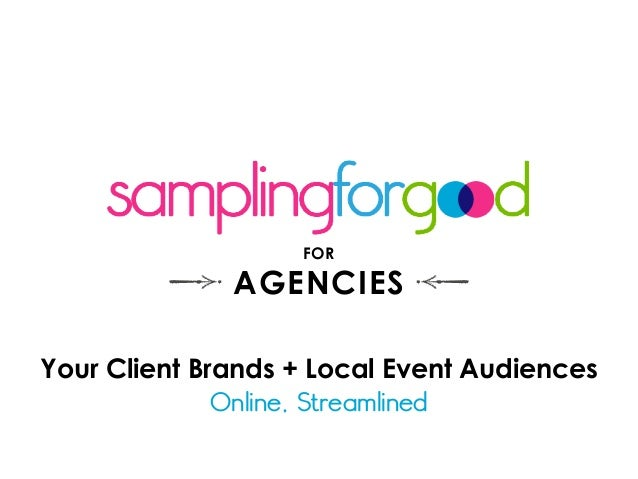 Your Client Brands + Local Event Audiences Online, Streamlined FOR AGENCIES