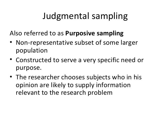 sampling and sampling techniques in research Sampling: the basics sampling is an important component of any piece of research because of the significant impact the purpose of sampling techniques is to help.