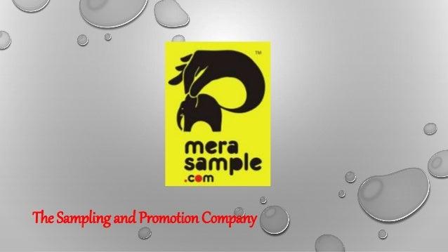 Sampling solution free samples-samples ppt