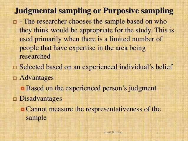 purposive sampling techniques in research