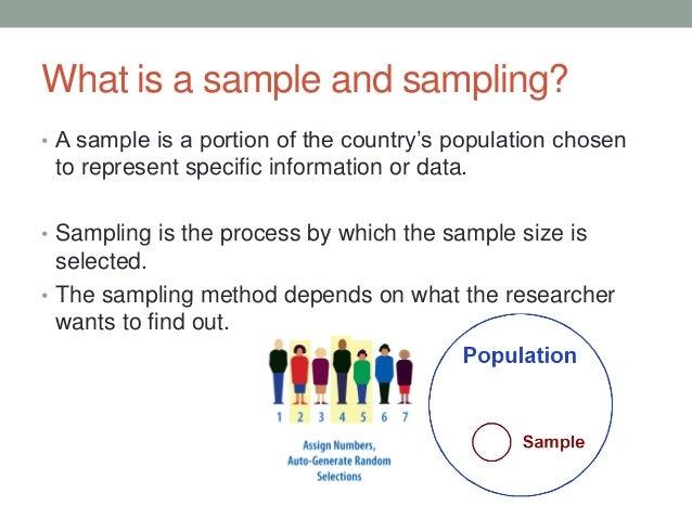 Sampling & surveying ppt