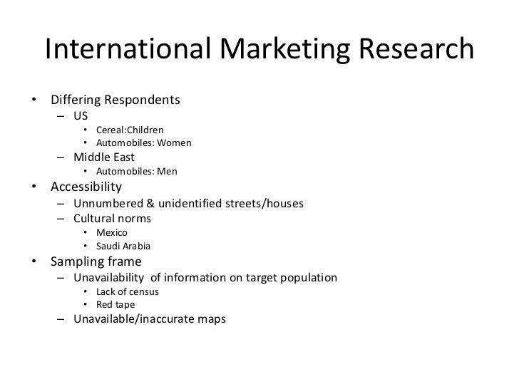 market research sampling limitations