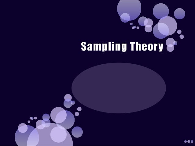 sampling theory This article focuses on the ways in which sampling theory can be applied to some  of the common tasks routinely performed in graphics.