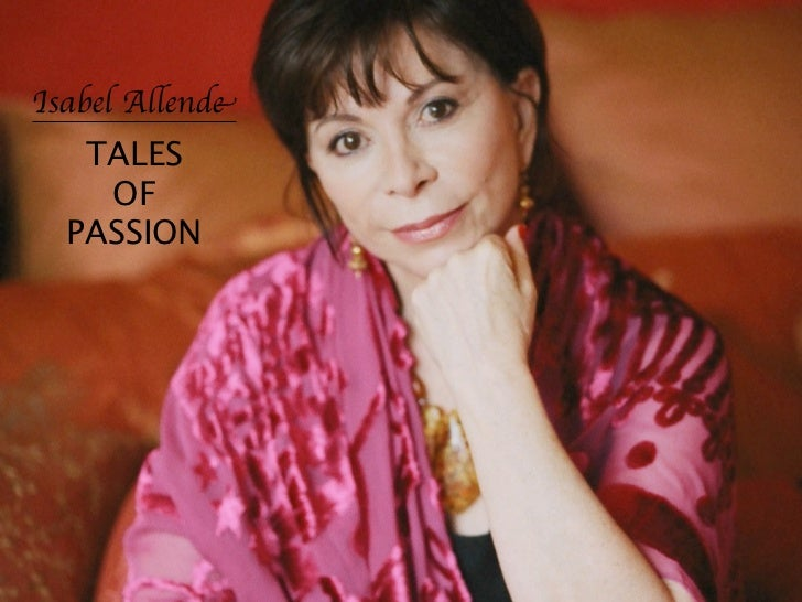 Isabel Allende   TALES    OF  PASSION
