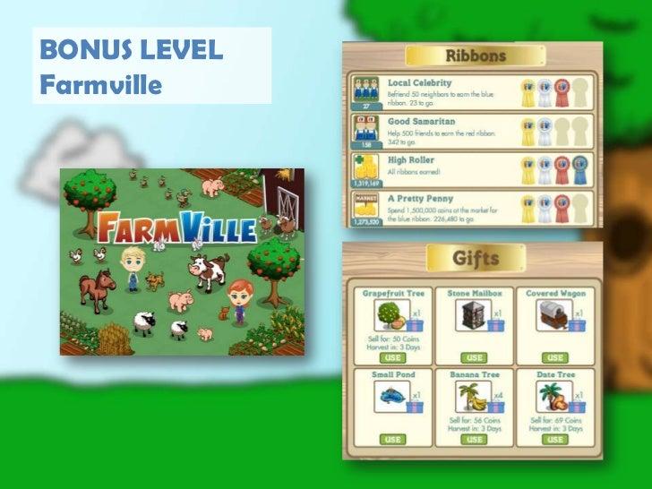 BONUS LEVEL<br />Farmville<br />