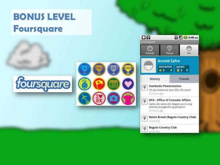 BONUS LEVEL<br />Foursquare<br />