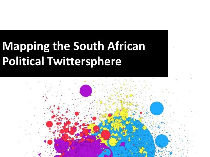 Mapping the South AfricanPolitical Twittersphere