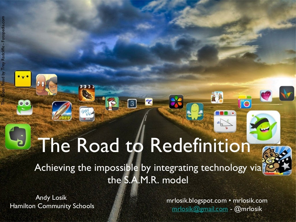Hamilton Teacher-led P.D. - Tech Integration via SAMR