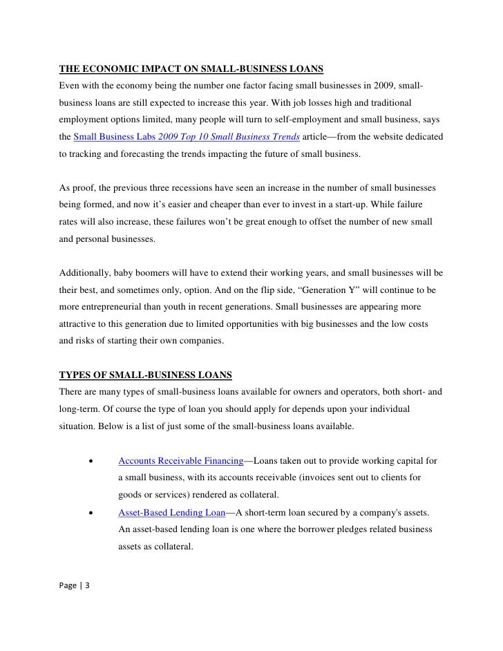Take it to the bank sams club whitepaper helps small business navig expert outlooks on obtaining small business loans page 2 3 friedricerecipe Image collections