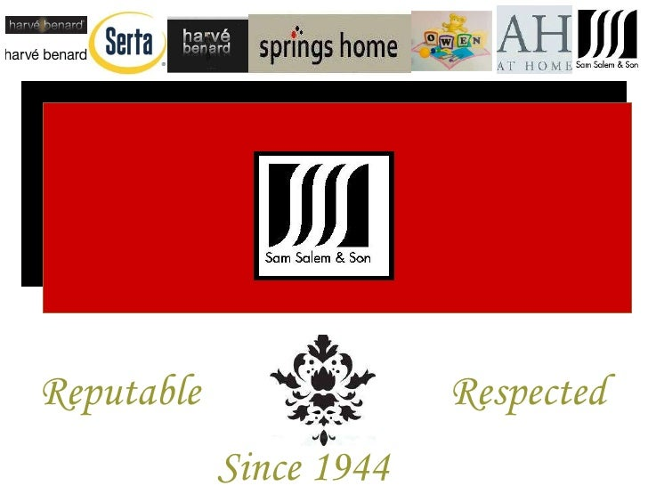 Reputable Respected Since 1944