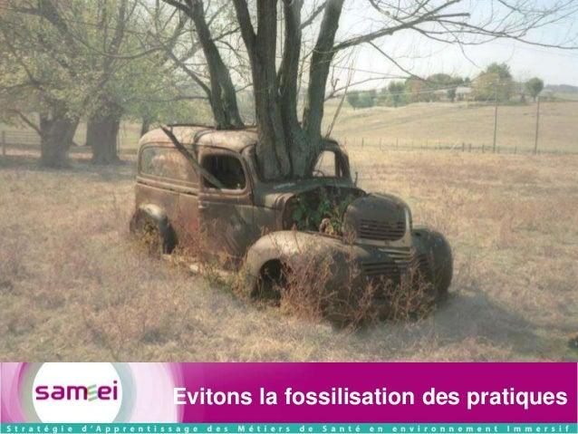 Evitons la fossilisation des pratiques