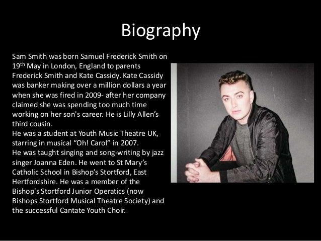 The life of samuel frederick smith