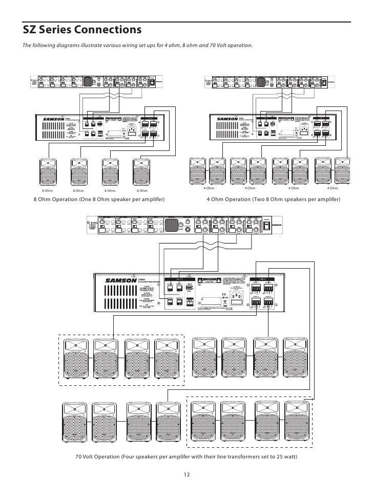 Wondrous Wiring A 70 Volt Speaker System 70V Volume Control Wiring Diagram Wiring Digital Resources Attrlexorcompassionincorg