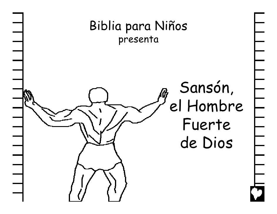 Samson gods strong man spanish cb - Cosas de manualidades para ninos ...