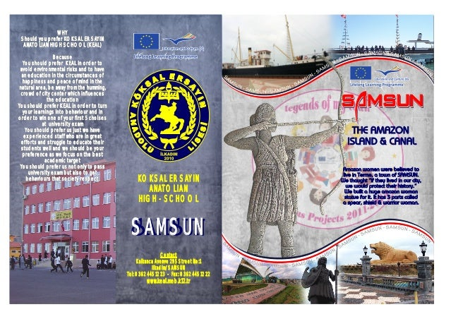 """SAMSUNSAMSUNSAMSUN THE AMAZON ISLAND & CANAL Amazon women were believed to live in Terme, a town of SAMSUN. We thaught """"if..."""