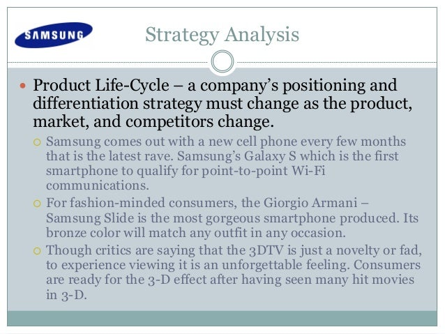differentiation strategy of samsung