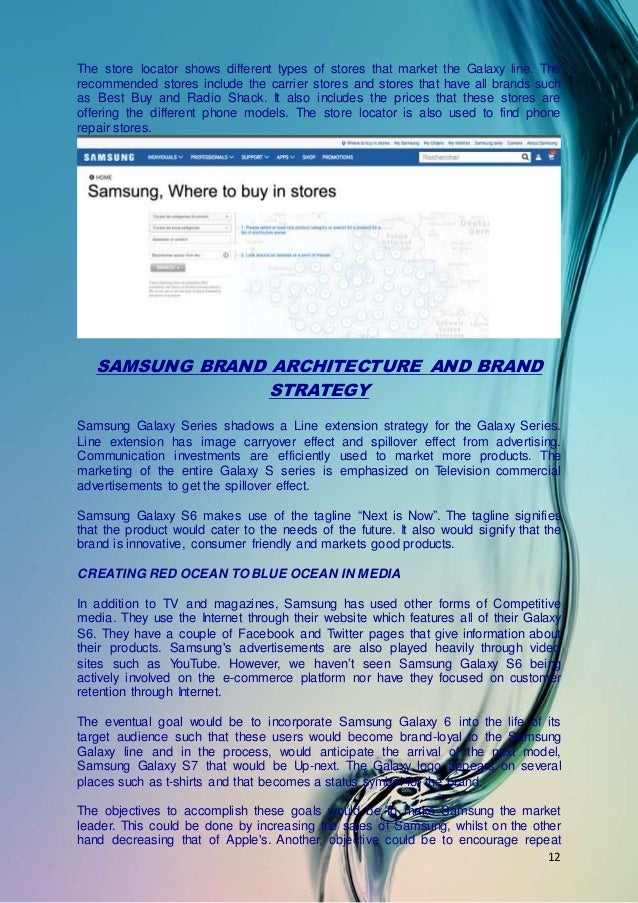 samsung redefining a brand case study Samsung redefining a brand - download as (ehtml), pdf file (pdf), text file (txt) or read online it was the case that samsung faced in the canada mostly and also in the world wide samsung want to fight the other brand, either they need a new brand or still in the exclusive way for the complete analysis you can see to my file thanks.