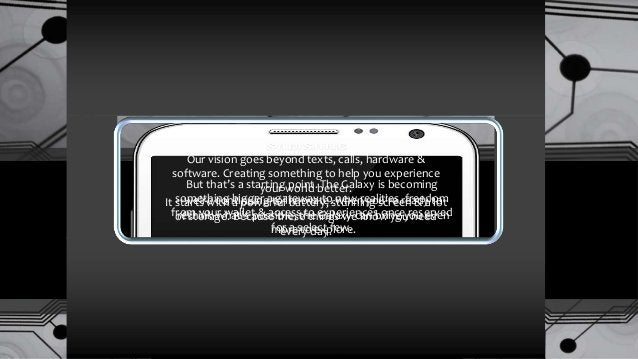 Structure Strategy Samsung Galaxy Marketing Strategy Core Competencies Outline