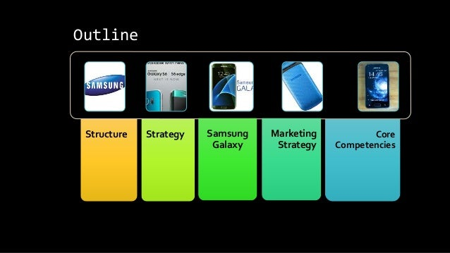 Samsung Corporate Structure • 1938 founded by Byung-Chull Lee • Started as an OEM • 1997 Asian market recession • CMO Greg...